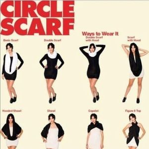 American Apparel Accessories - American Apparel jersey circle scarf